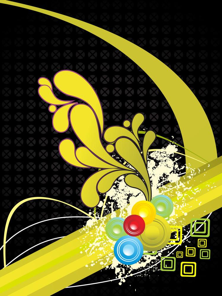 Grungy Artwork Illustration