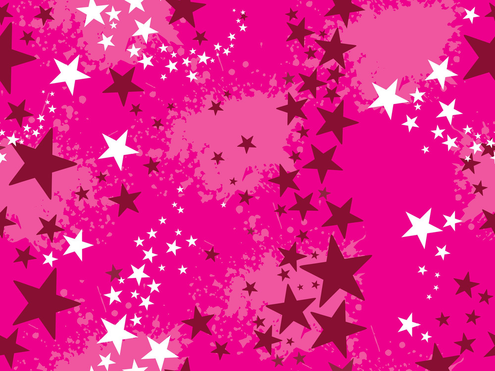 Grungy Background With Star