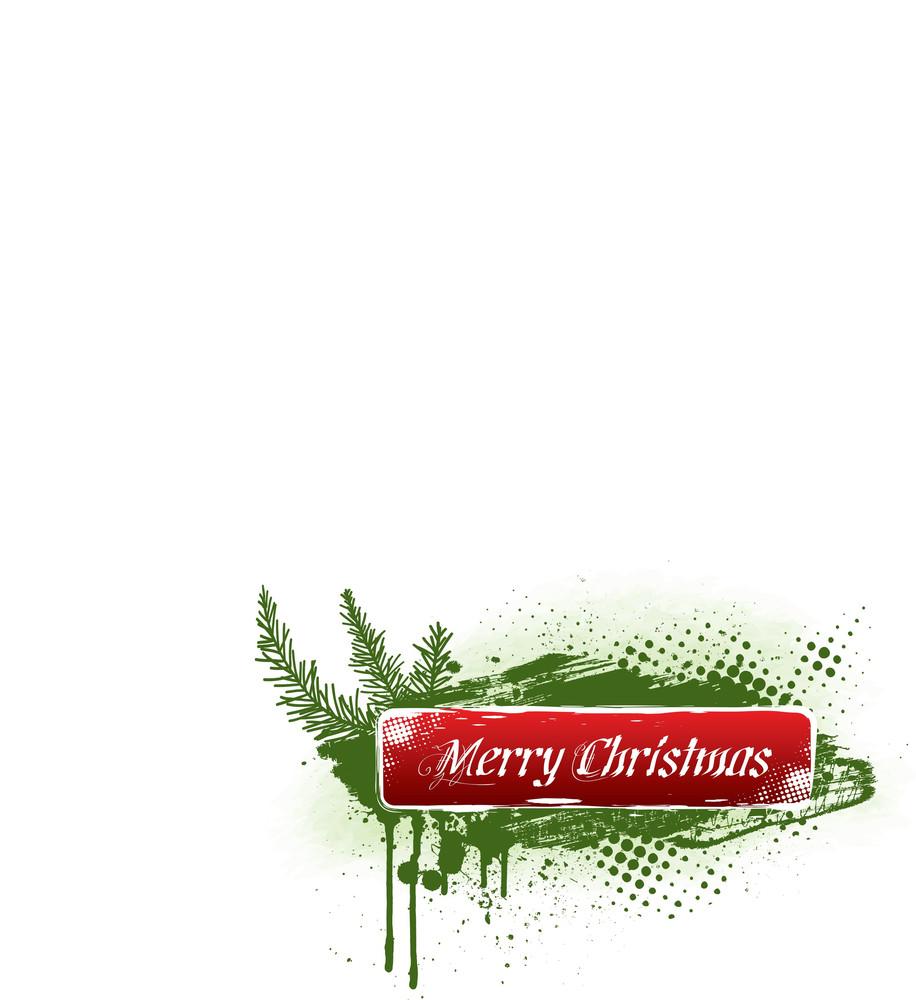 Grungy Christmas Banner Ii.