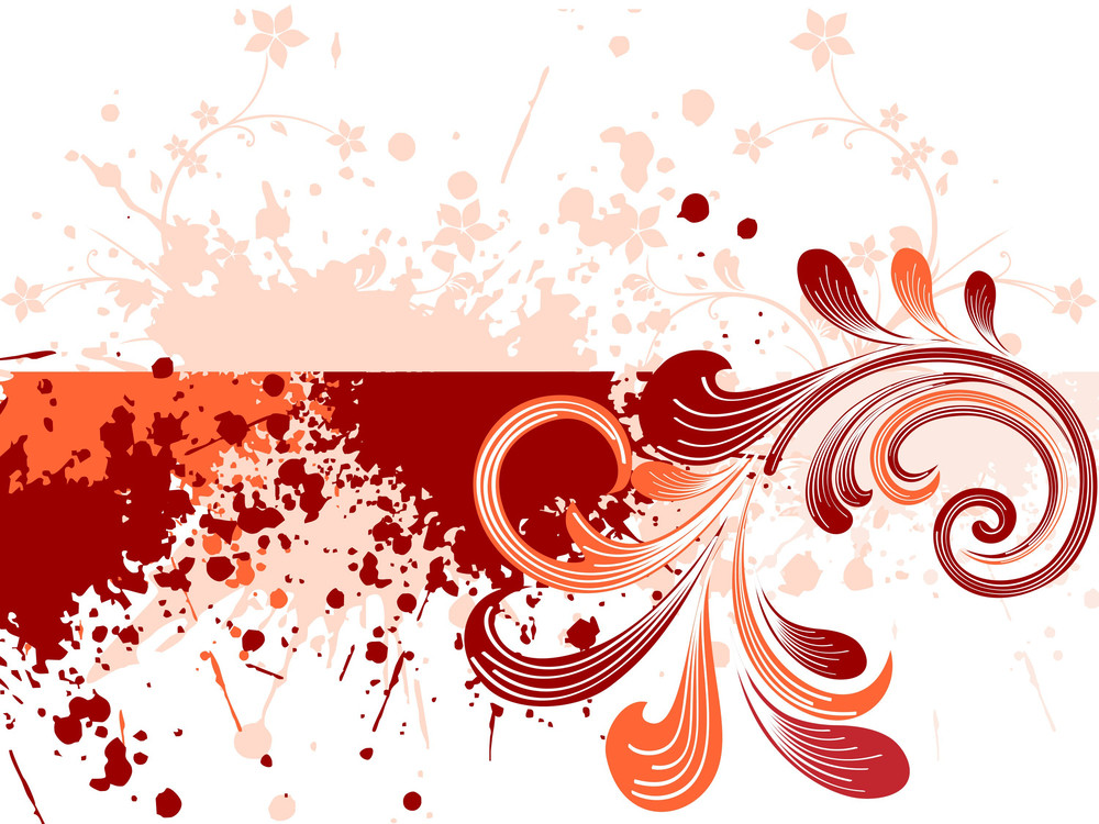 Grungy Element Background