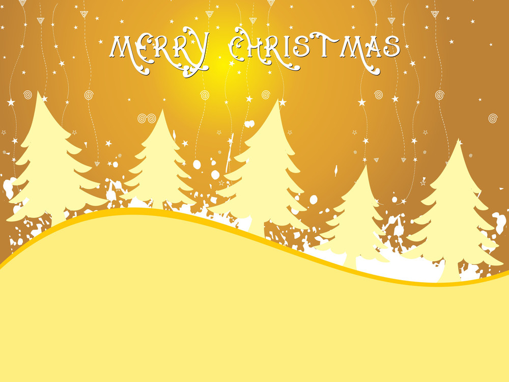 Grungy Merry Xmas Day Wallpaper