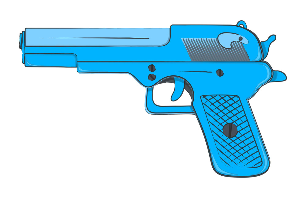 Gun Vector Design