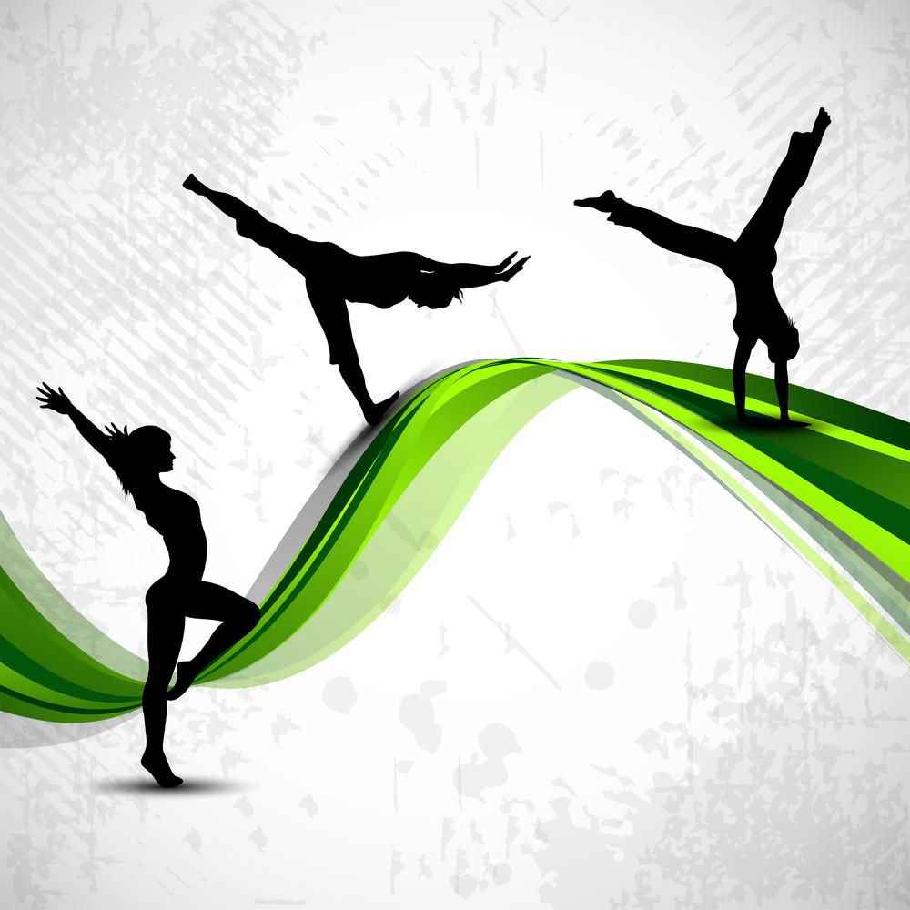 Gymnastic Artistic Girls.