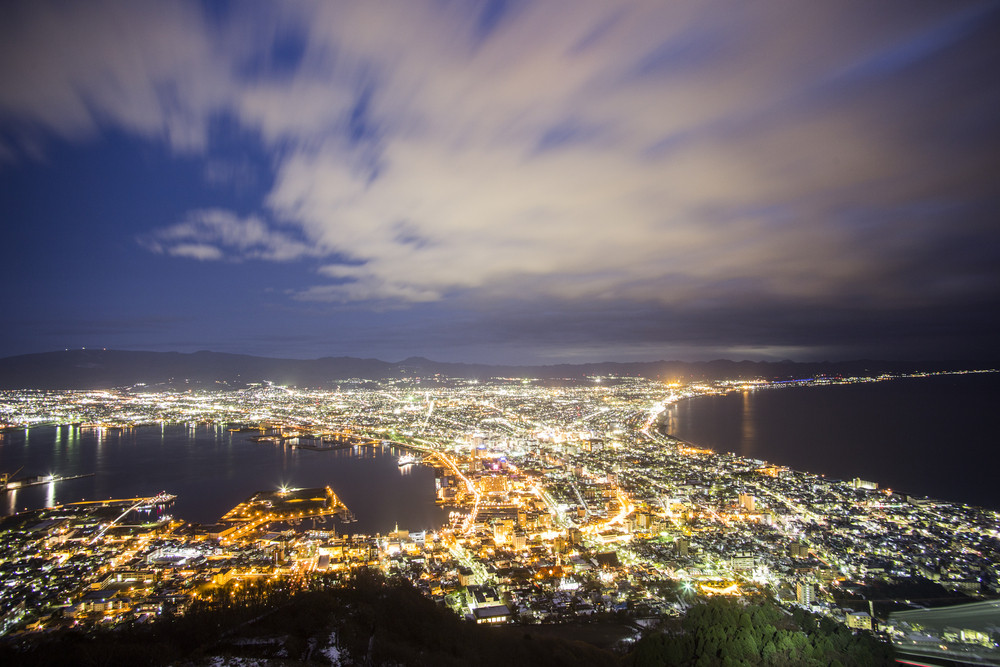 Hakodate viewpoint best top 3 nightview in Japan. Hakodate. Japan