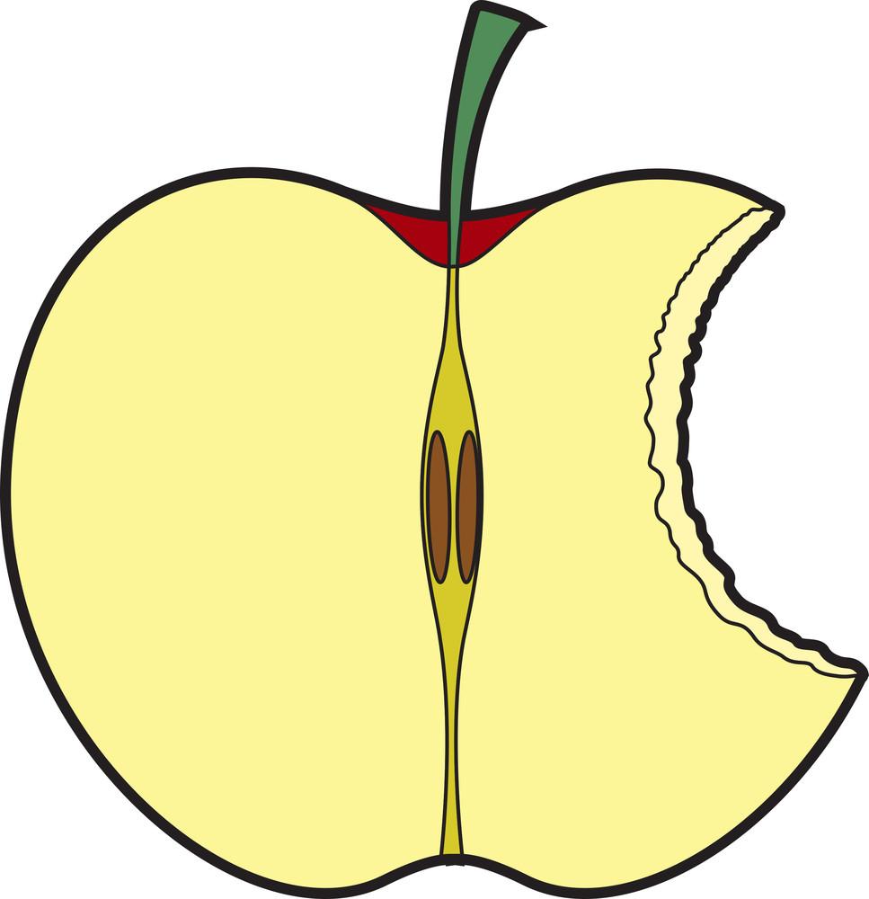 Half Eaten Apple