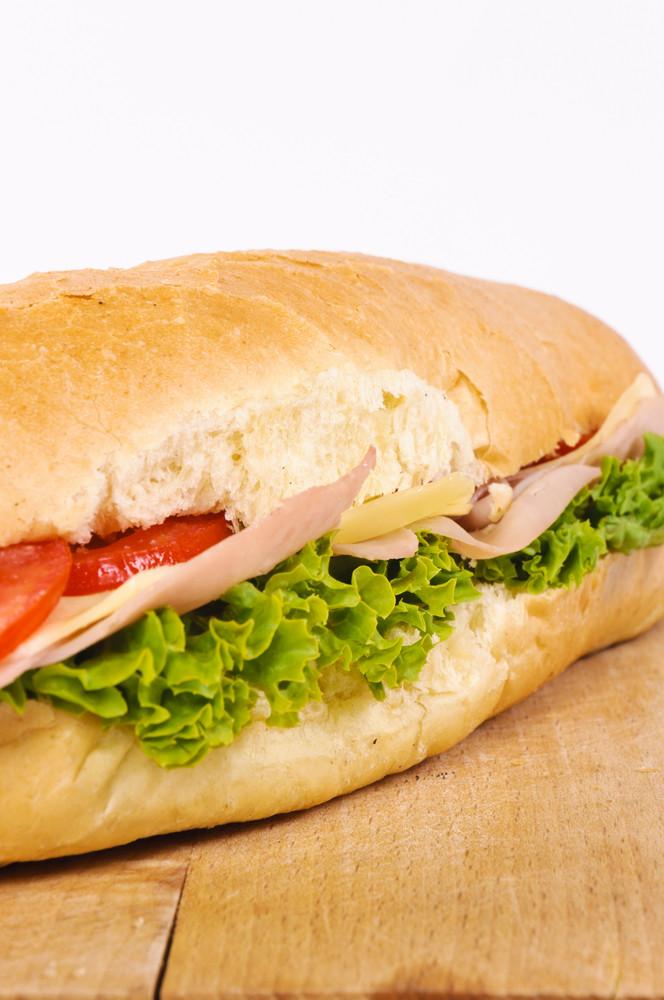 Half Sandwich On The Board