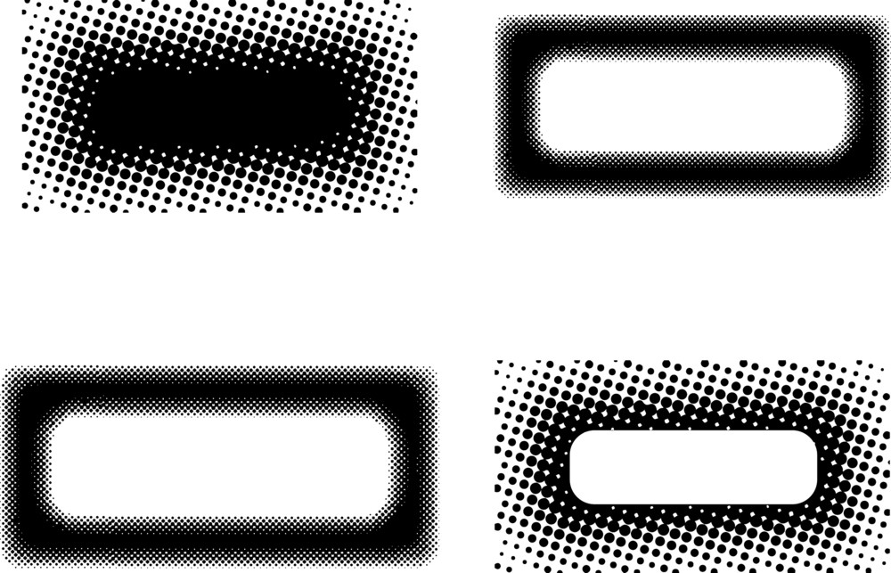 Halftone Banners