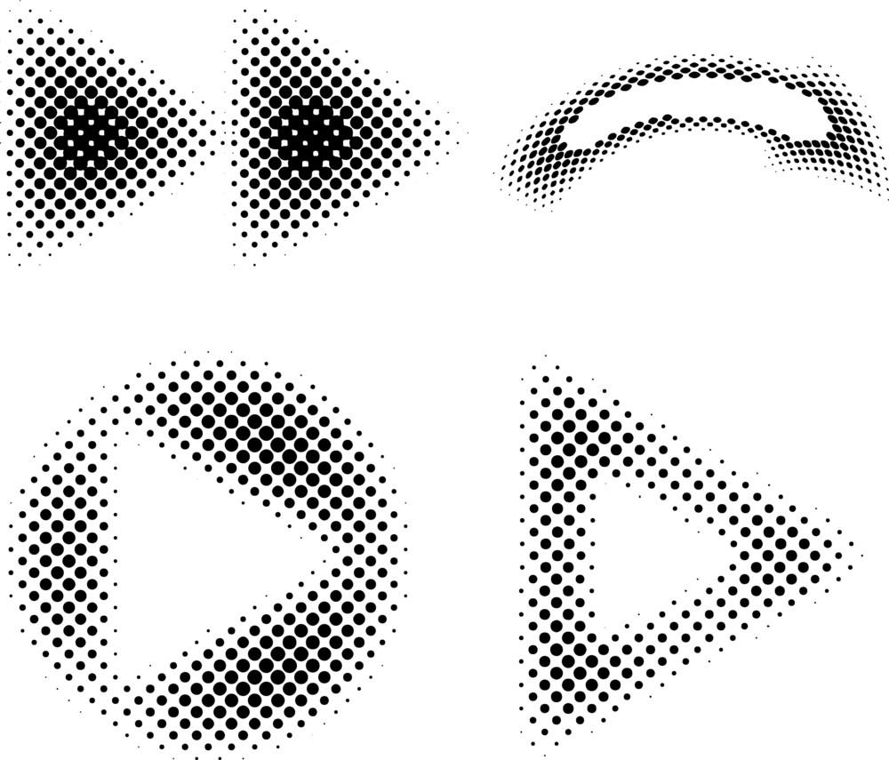 Halftone Icons