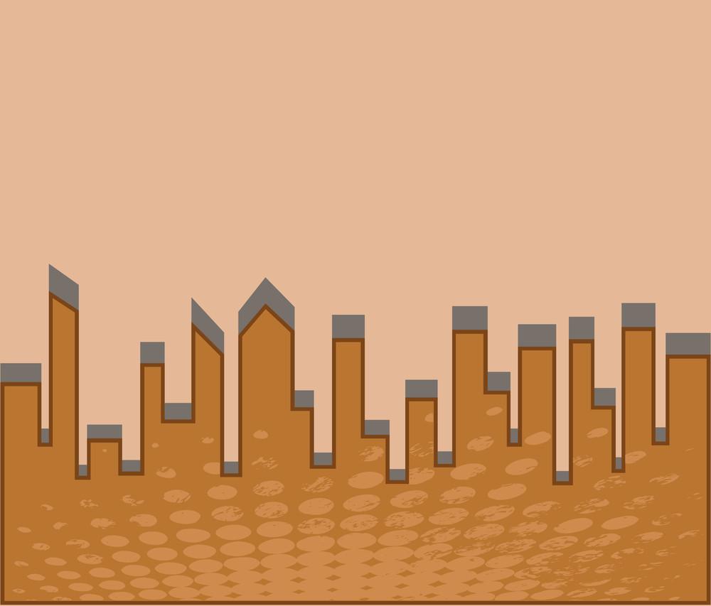 Halftone Skyscraper
