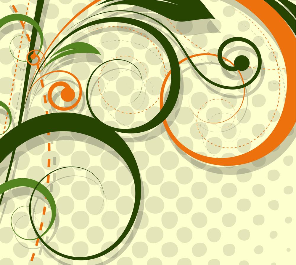 Halftone Swirl Designs