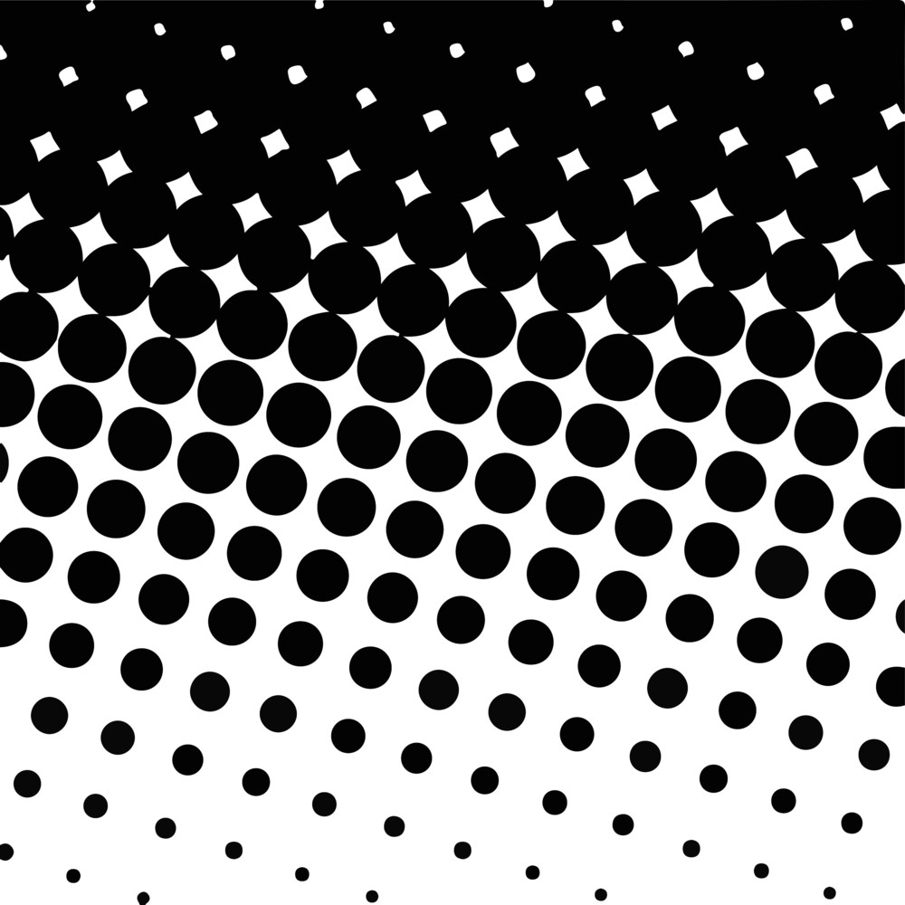 Halftone Texture Backdrop