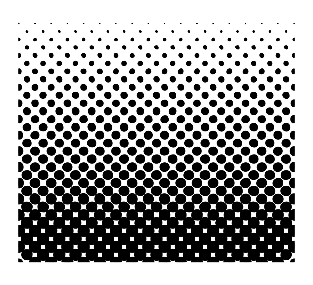 Halftone Texture Background Vector