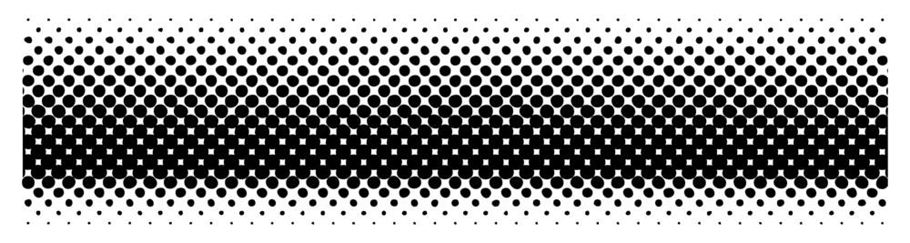 Halftone Texture Banner