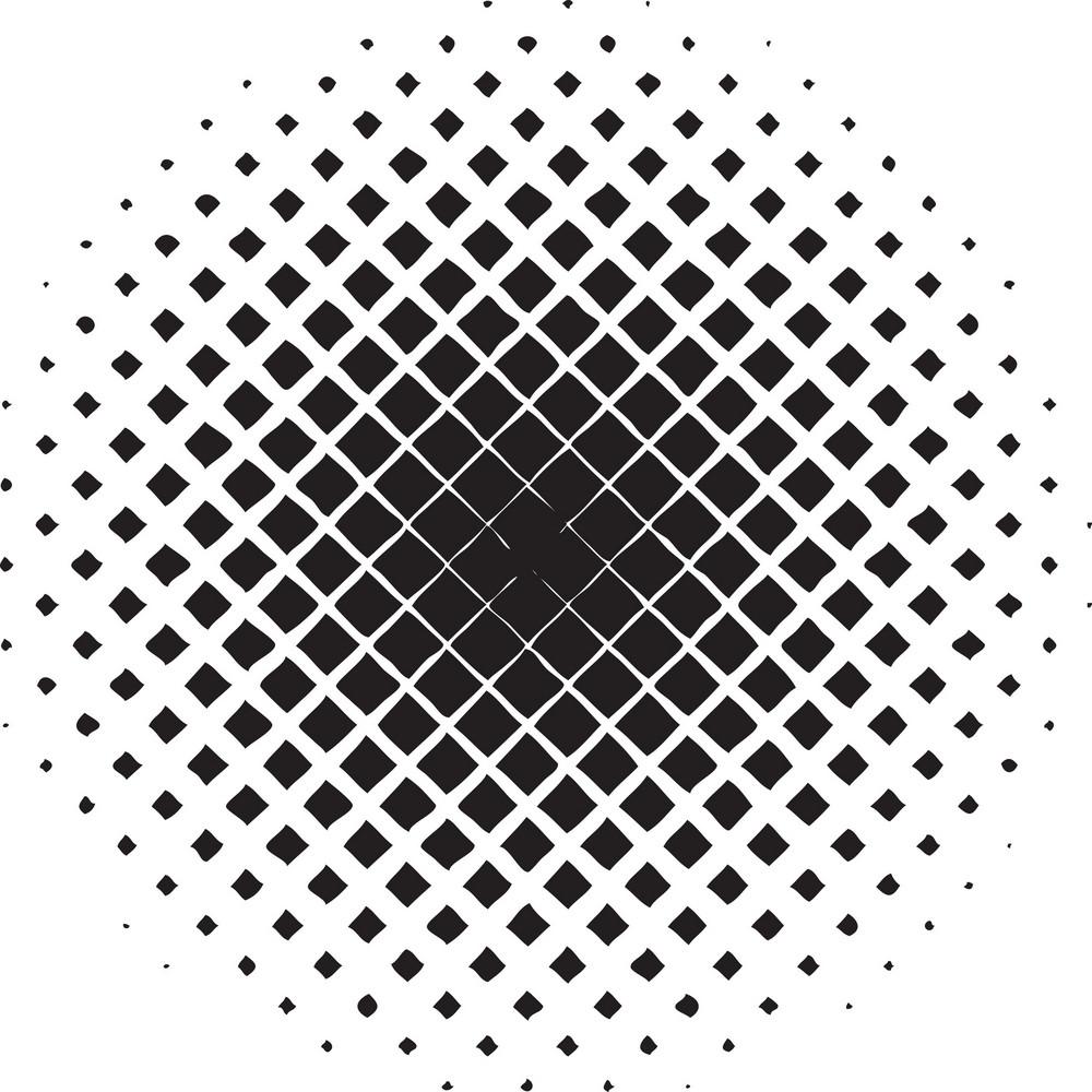 Halftone Vector Element