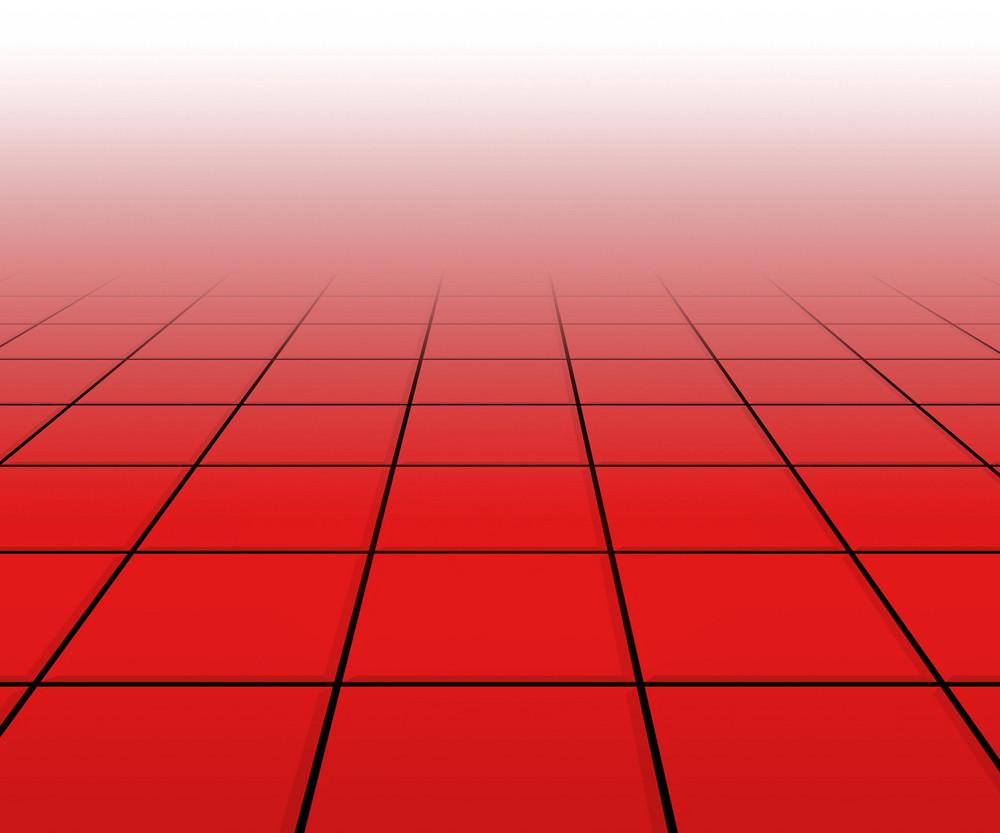 Hall Spotlight Red Floor Background