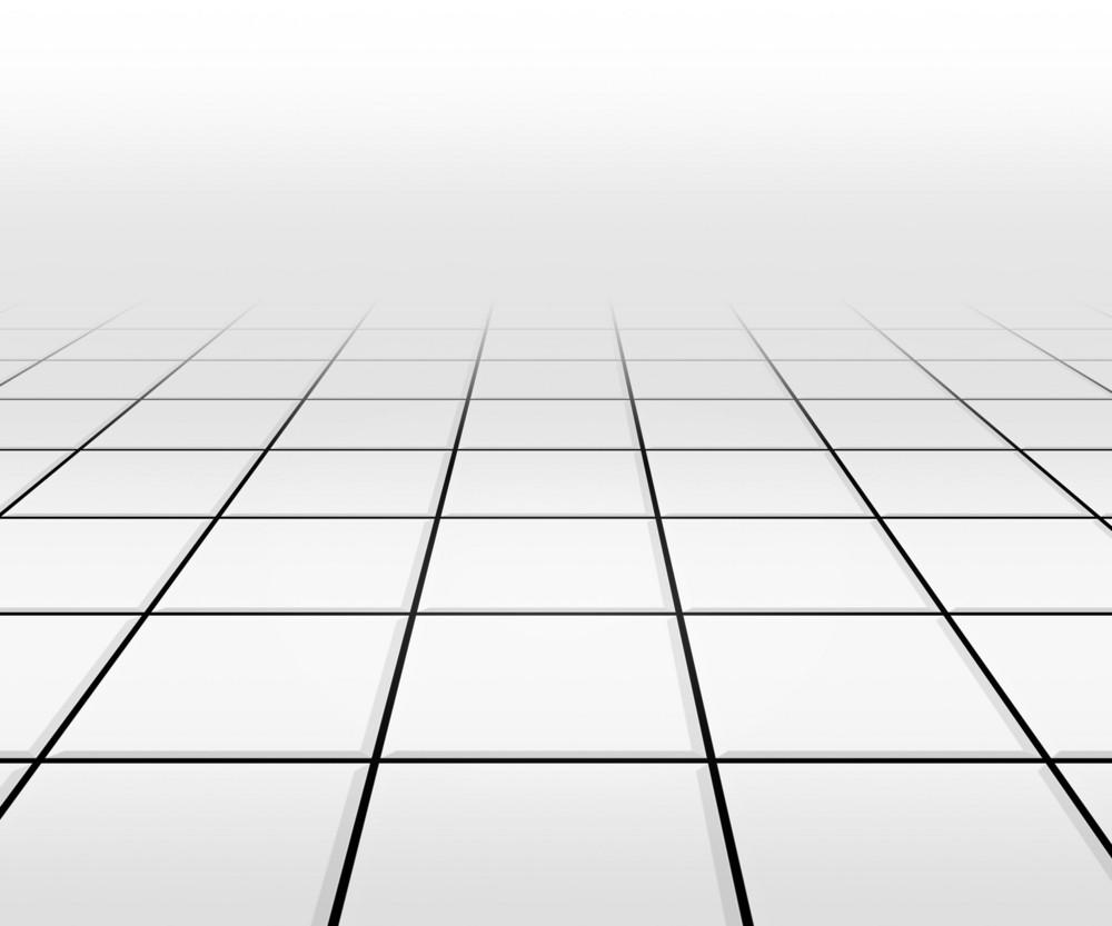 Hall Spotlight White Floor Background