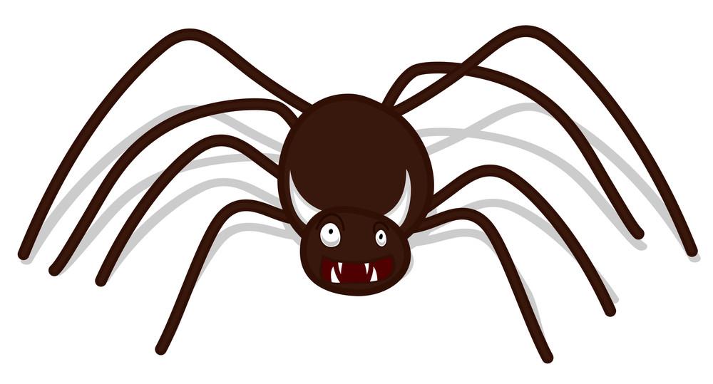 Halloween Devil Spider