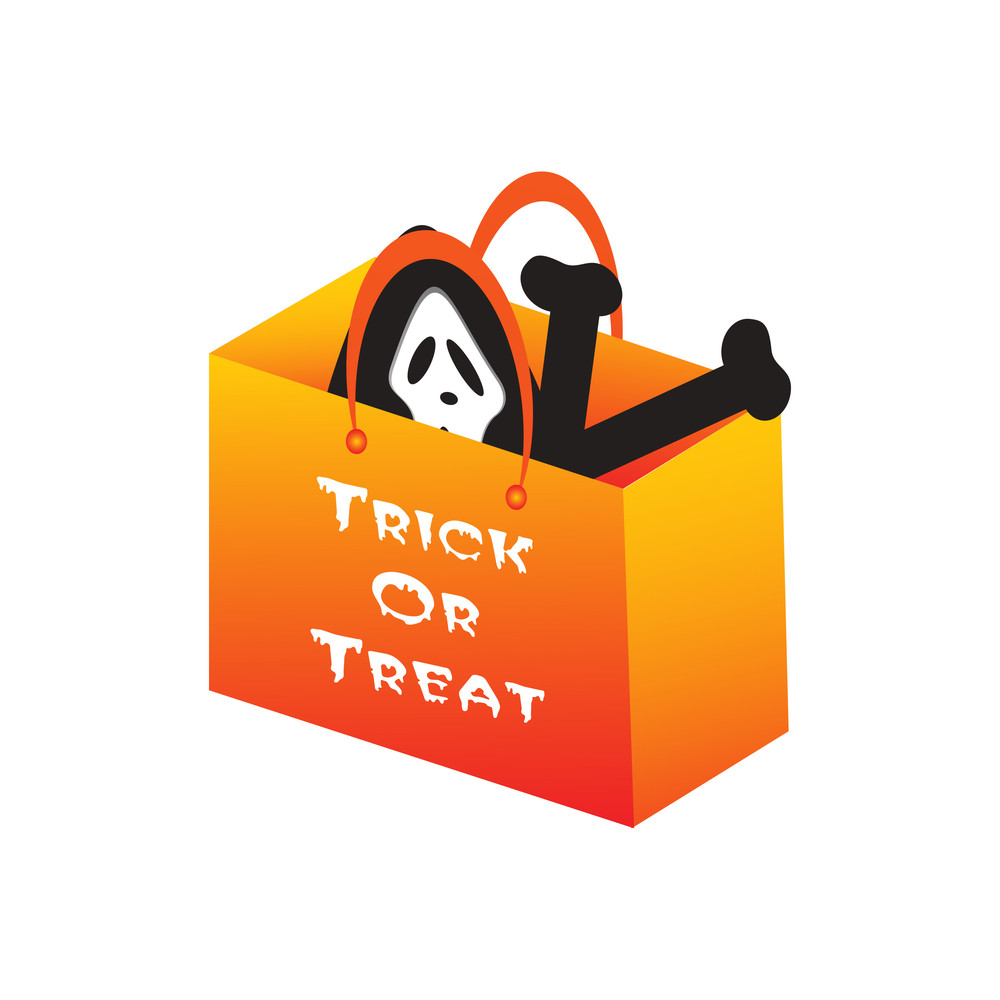 Halloween Object With Background