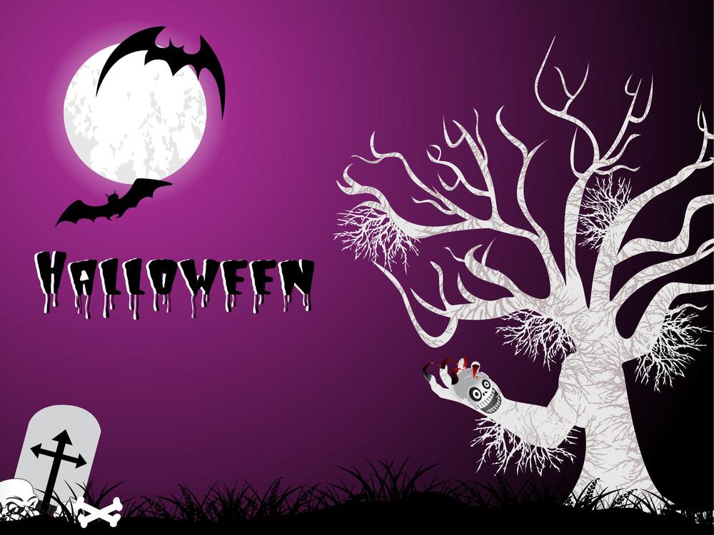 Halloween Pattern Wallpaper