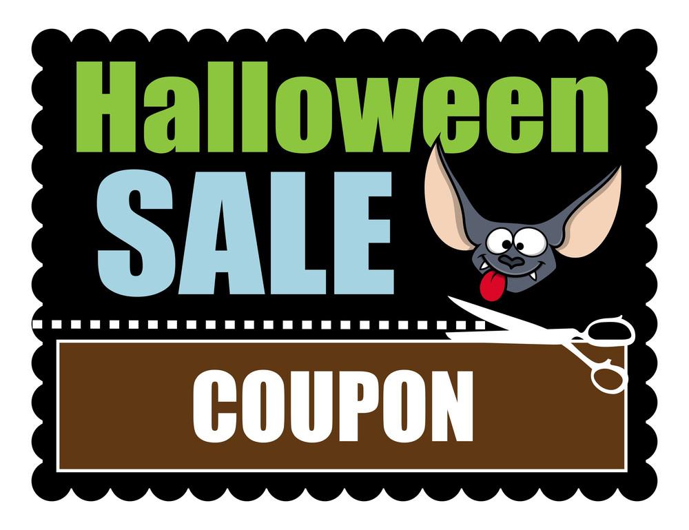 Halloween Sale Banner Discount Coupon