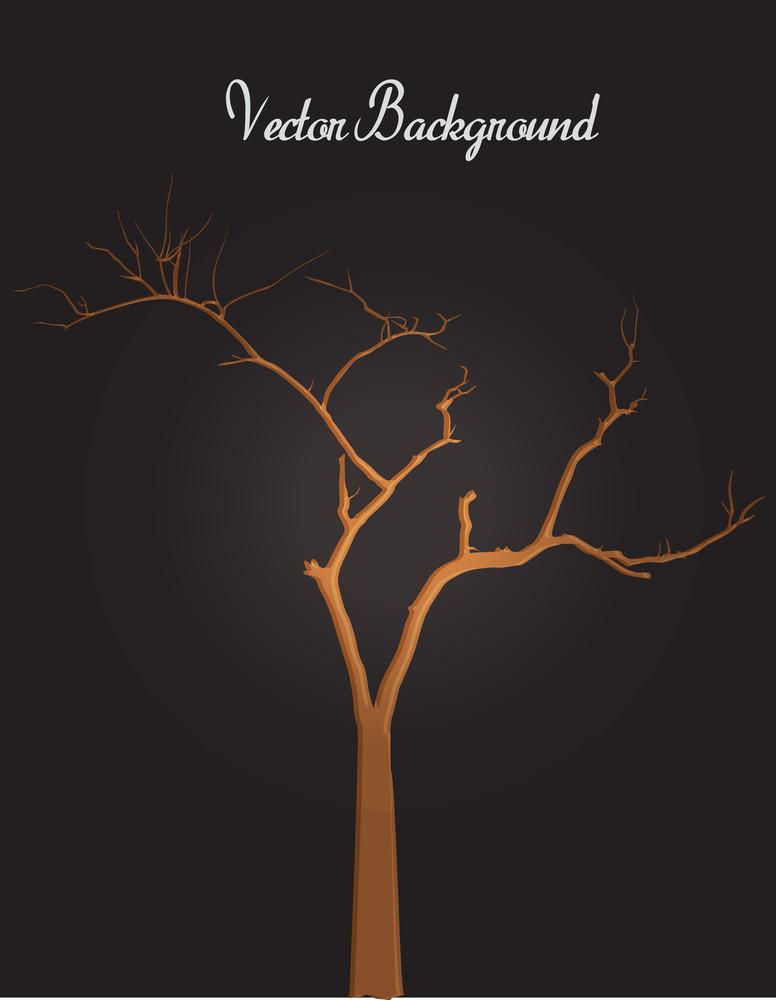 Halloween Scary Dead Tree