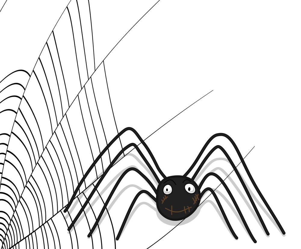 Halloween Spider Character