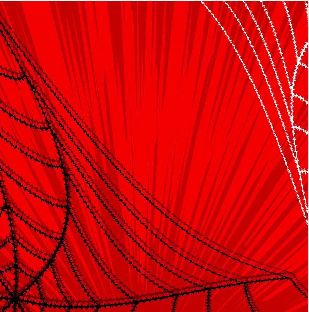 Halloween Spider Graphic Background