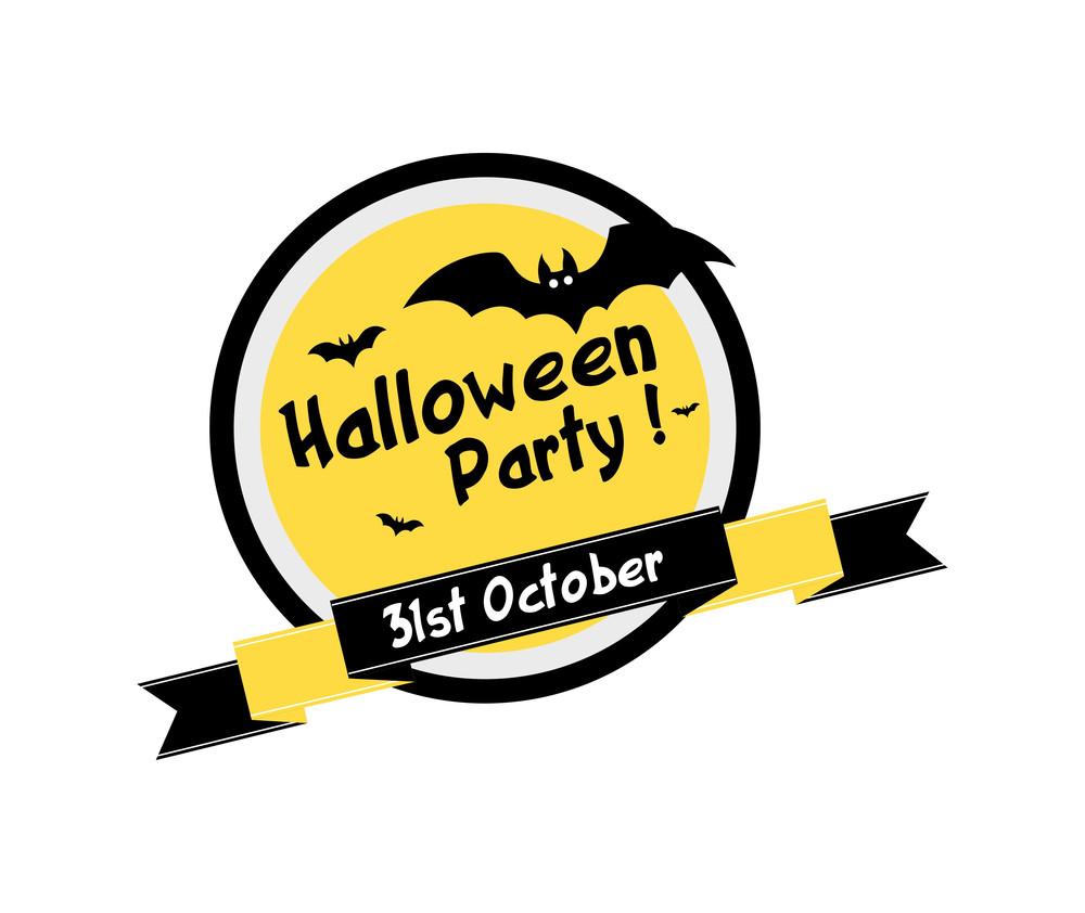 Halloween Vector Graphic Banner