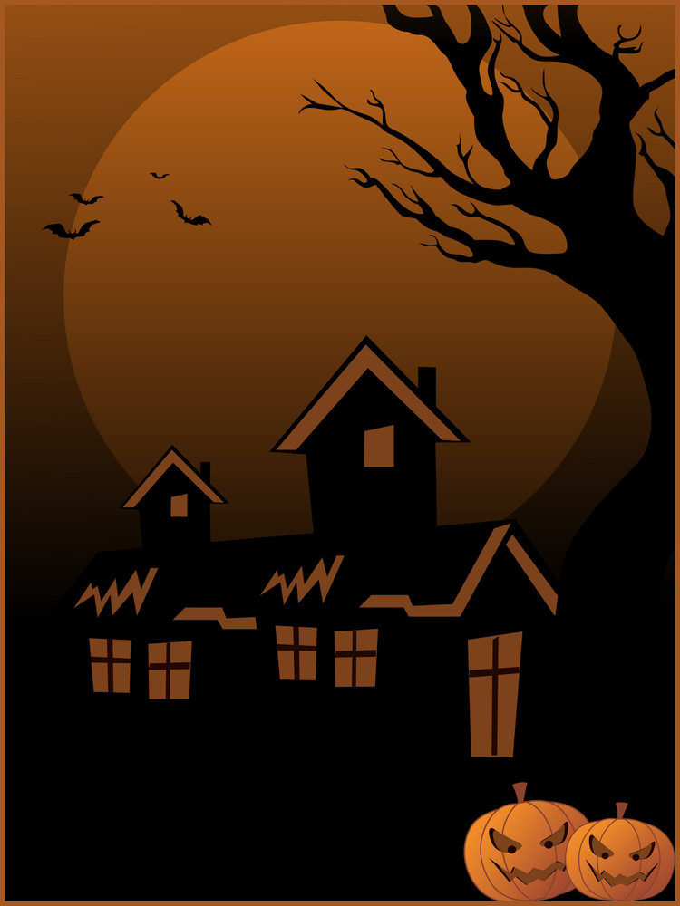 Halloween Wallpaper Illustration