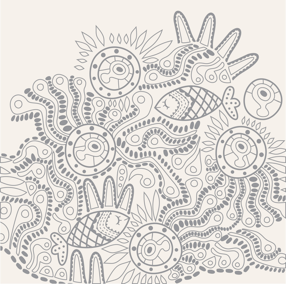 Hand-drawn Abstract Design