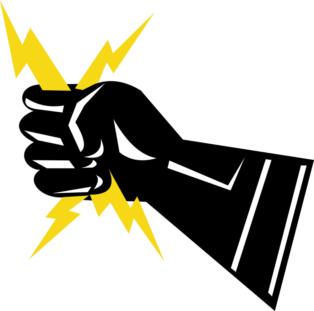 Hand Electricity Power
