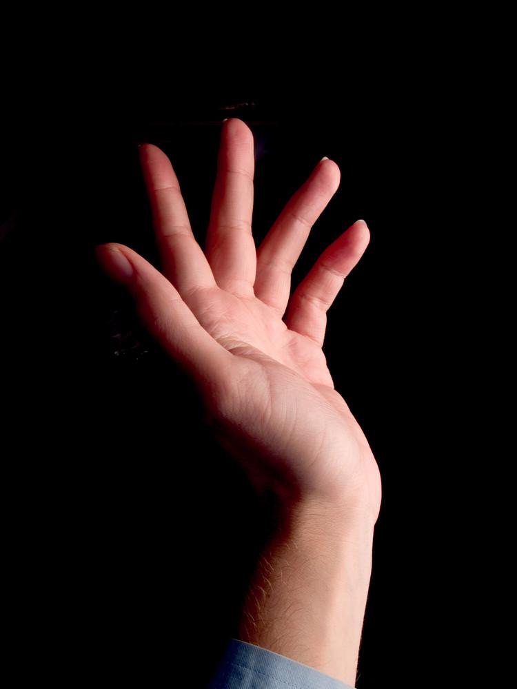 Hand Of A Businessman