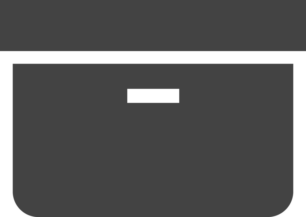 Hand Tool Box Glyph Icon