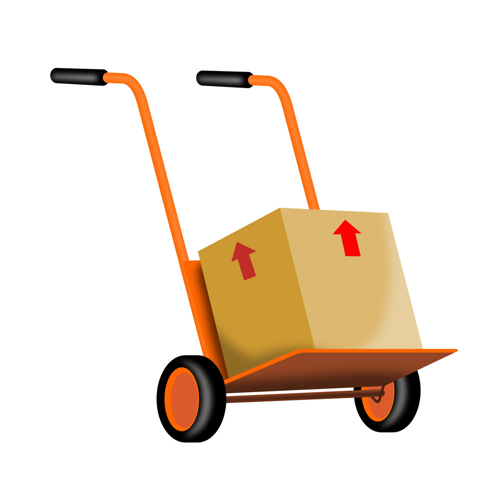 Handcart With Box
