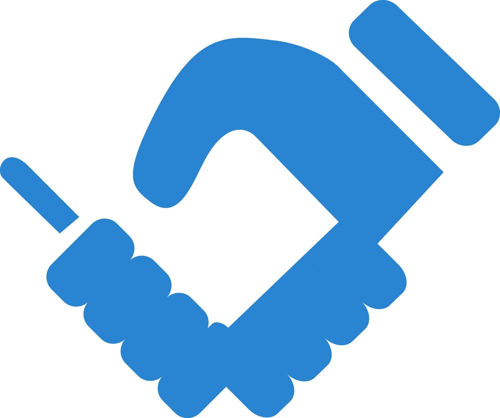 Handshake Simplicity Icon