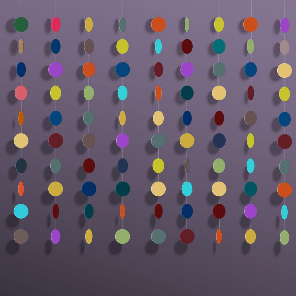 Hanging Colorful Circles