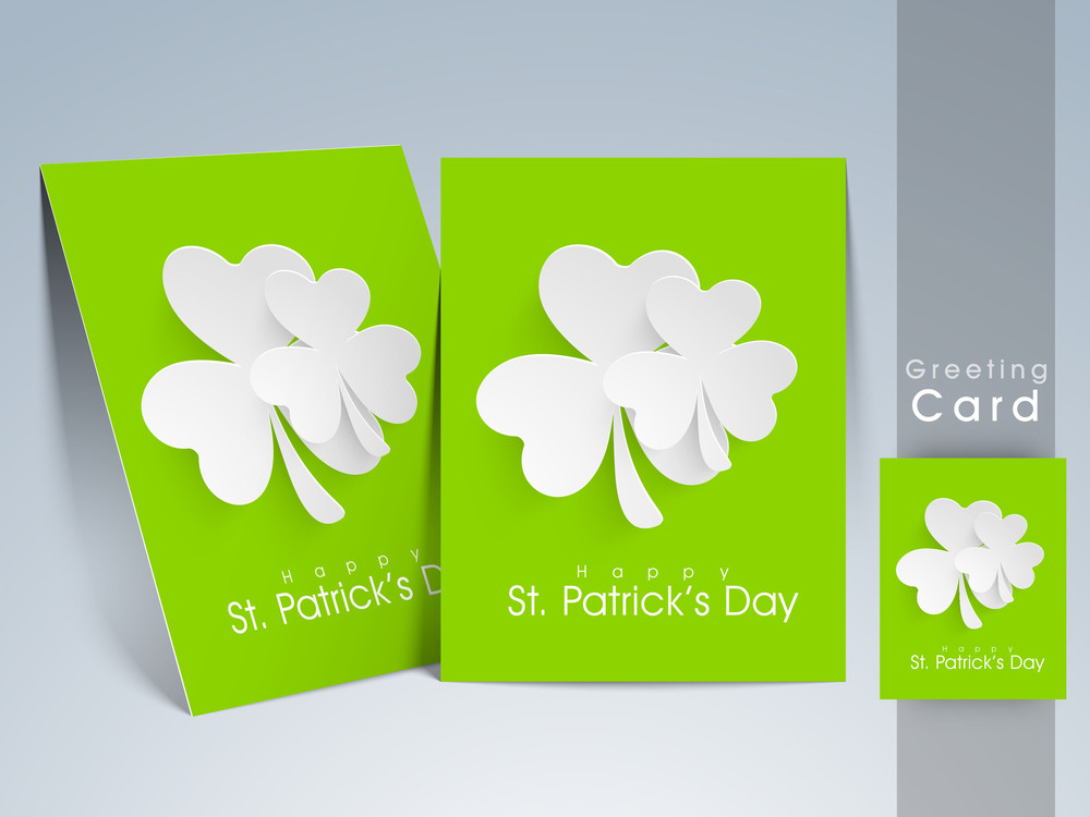 Happt St. Patricks Day Celebrations Background.