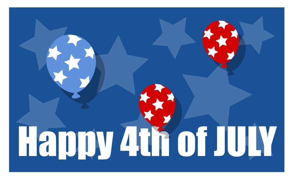 Happy 4th Of July Background