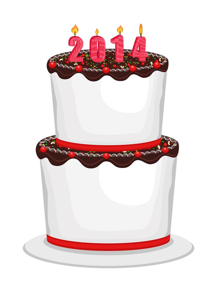 Happy Anniversary 2014 Cake