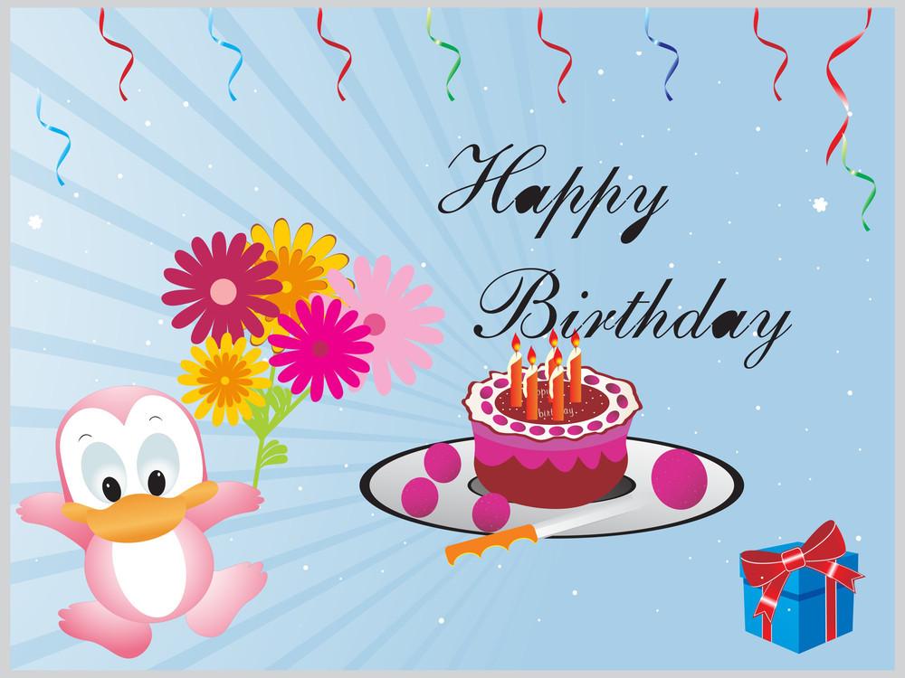 Happy Birthday Decoration For Kid Banner