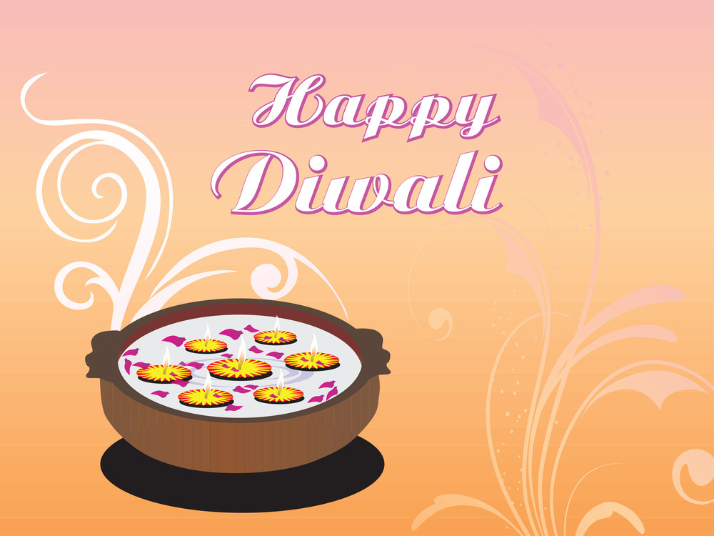 Happy Deepawali Background