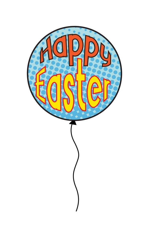 Happy Easter Balloon