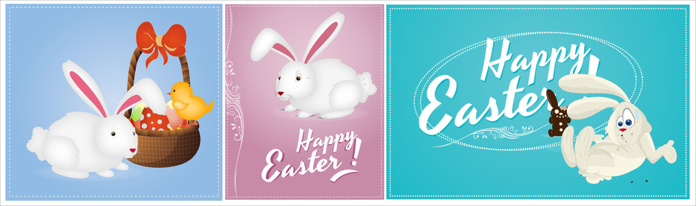 Happy Easter Vectors