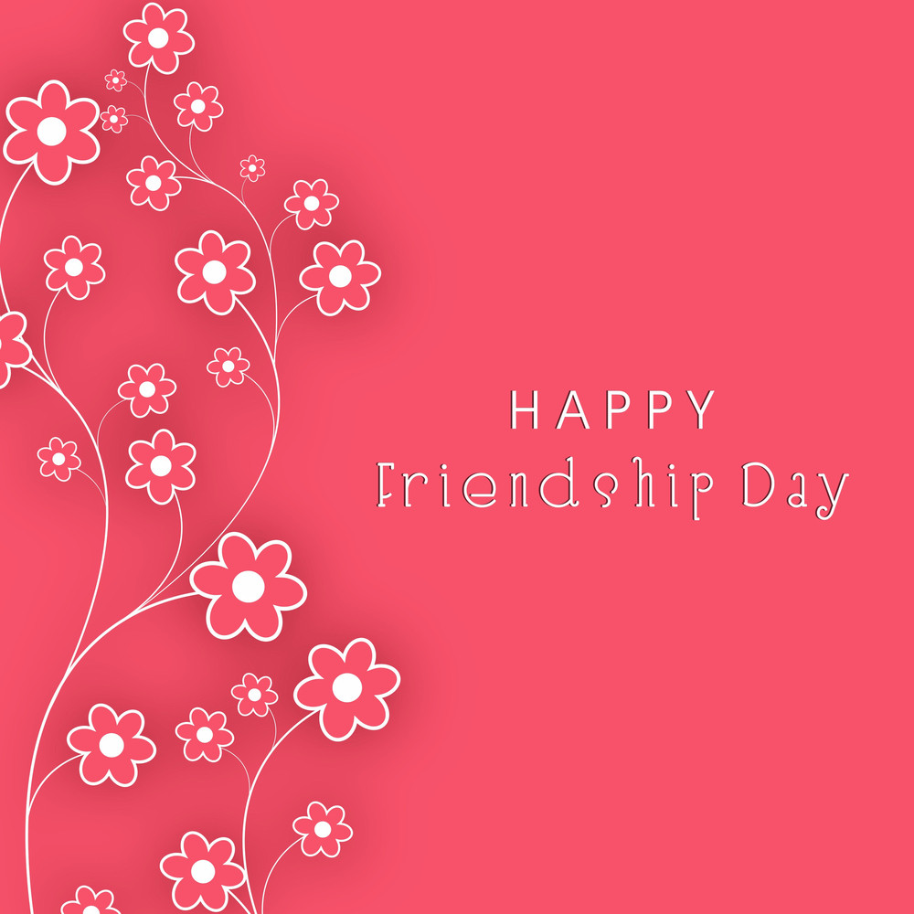 Happy Friendship Day Background