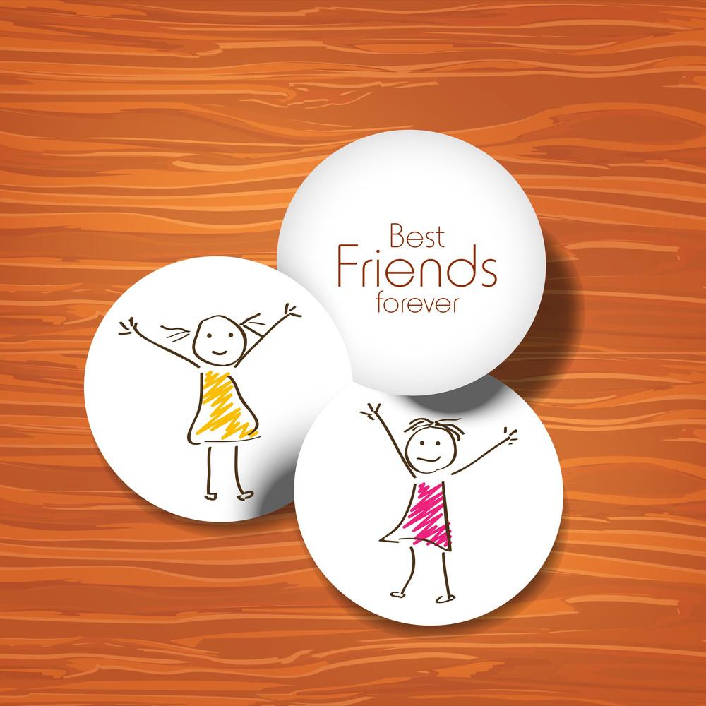 Happy Friendship Day Background