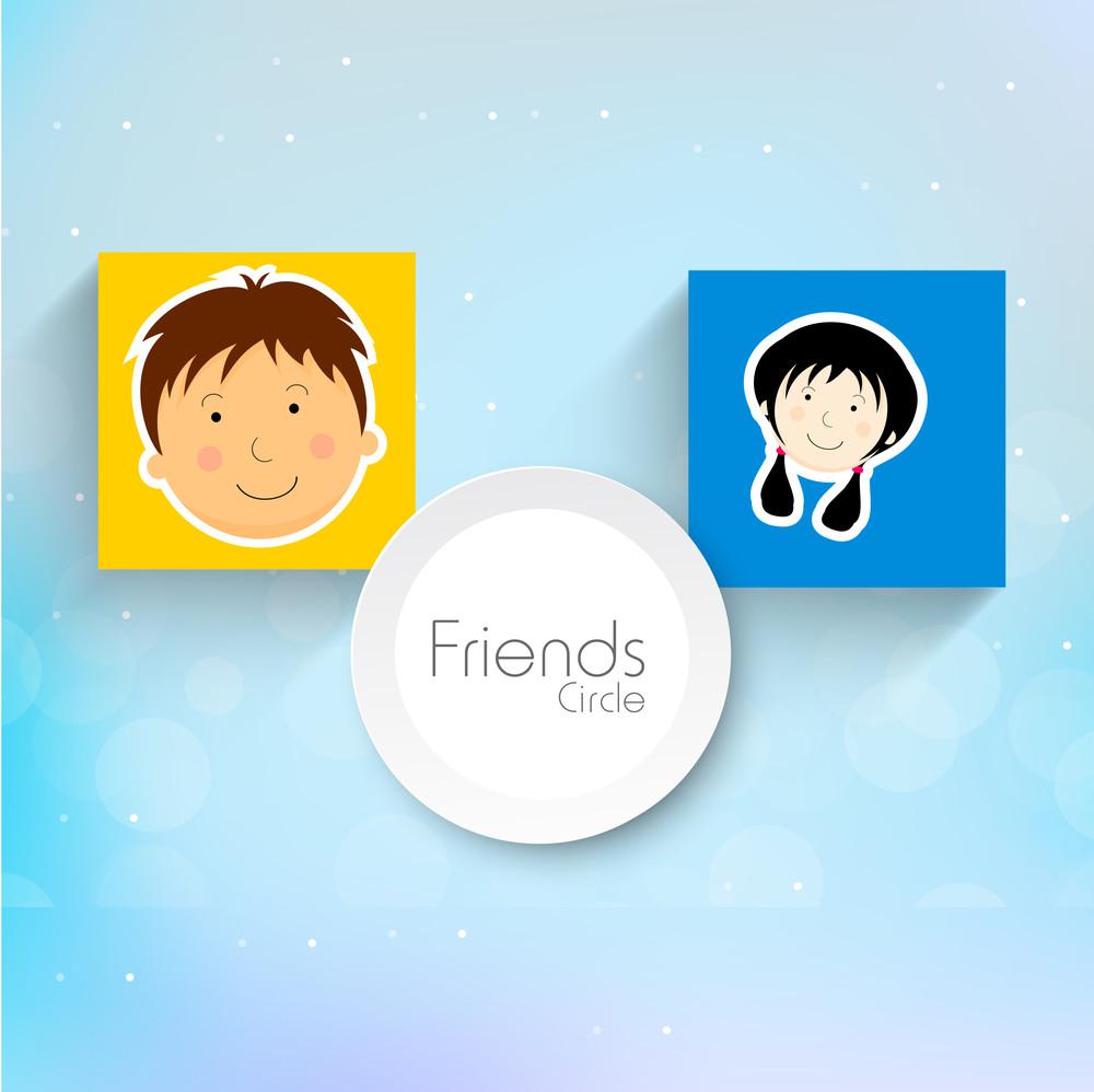 Happy Friendship Day Sticker