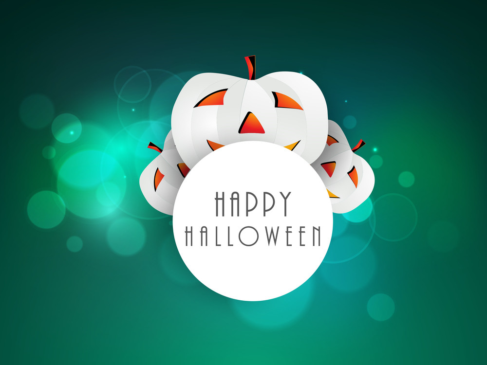 Happy Halloween Celebration Background.