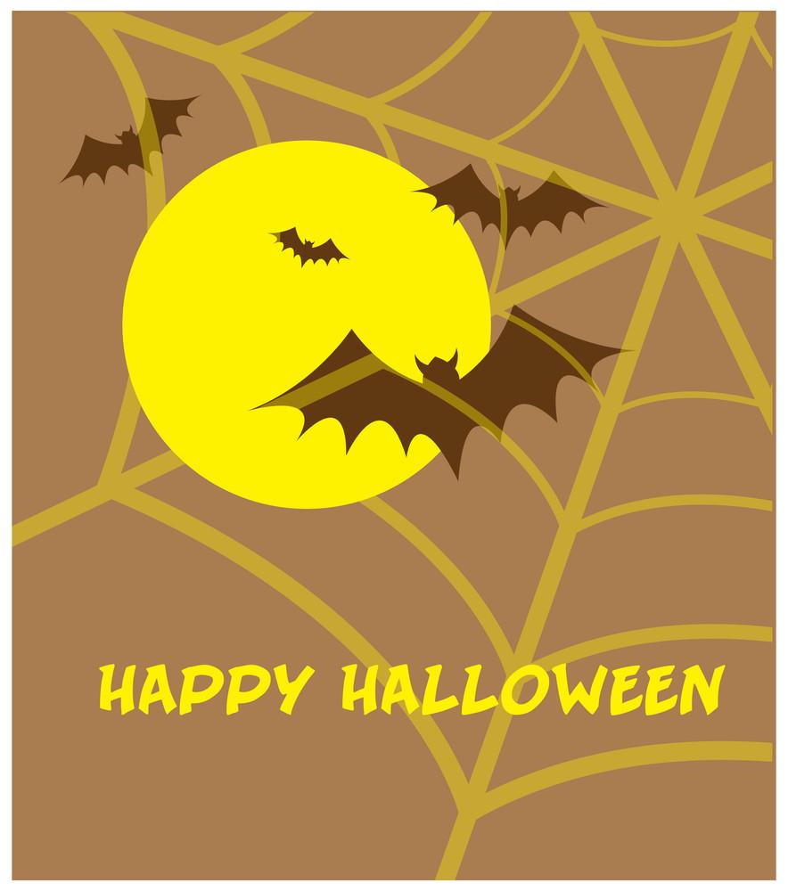 Happy Halloween Vintage Greeting Card