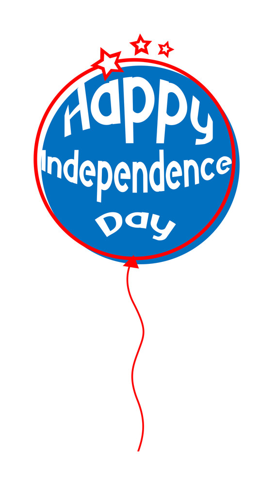 Happy Independence Day Balloon