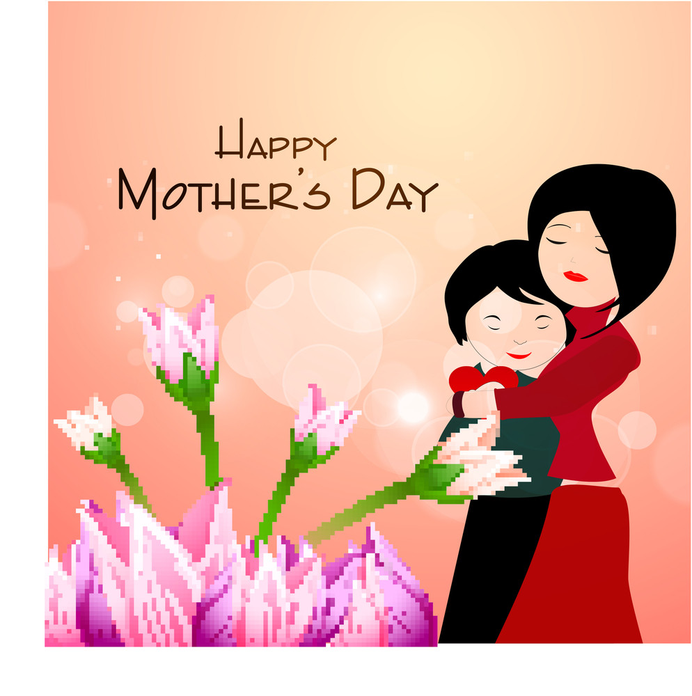 Happy mothers day celebrations greeting card design royalty free happy mothers day celebrations greeting card design m4hsunfo